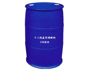 十二烷基苯磺酸钠液体30%
